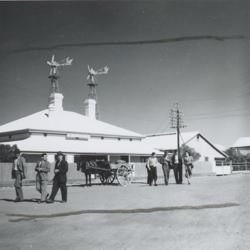 Mountford, Charles P. photographer : Post Office Building, Marree, 1935