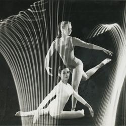 Ostoja-Kotkowski, Stanisław : photograph of two dancers, 1966