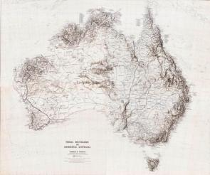 Tribal Boundaries in Aboriginal Australia