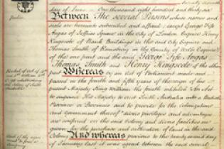 Excerpt from the Deed of Settlement
