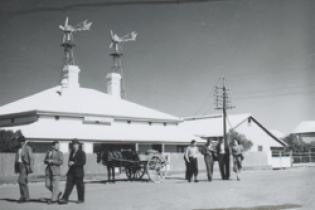 Mountford, Charles P. photographer : Post Office Building, Marree, 1935