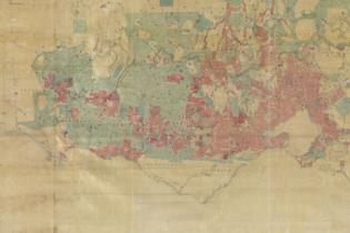 The 1862 Land Act Map - detail