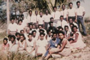 A group of Torres Strait Islander teachers, 1966