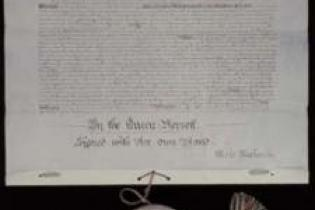 Queen Victoria's Royal Assent to the Commonwealth of Australia Constitution Act